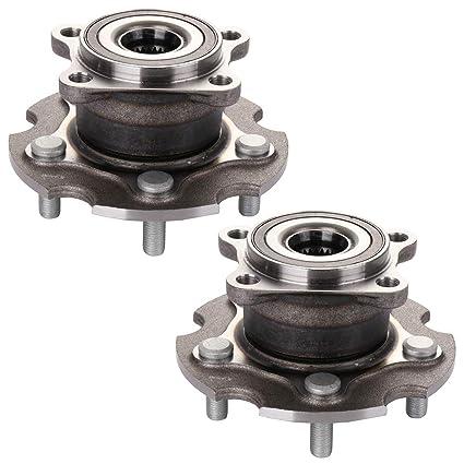 Amazon com: ECCPP Wheel Hub and Bearing Assembly Rear 512374