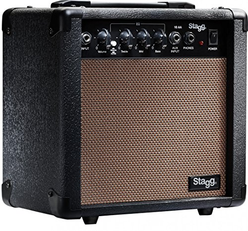Stagg 10 AA USA 10-Watt Acoustic Guitar Amplifier