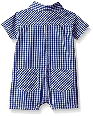 U.S. Polo Assn. Baby Boys' Woven Romper by US Polo Assn. Children's Apparel that we recomend personally.
