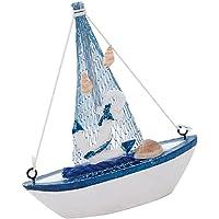 Sharplace Mediterráneo Mini Modelo de Réplica de Barco