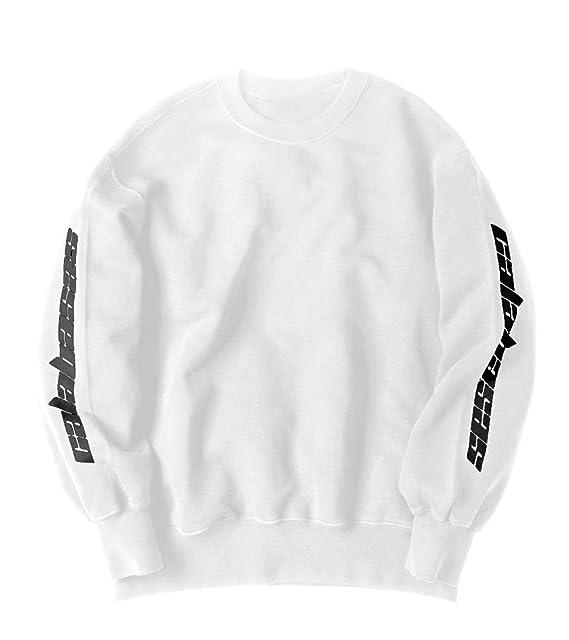 db52db68a US01 Unisex Calabasas Season 4 Kanye West Yeezy Saint Pablo Tour Crewneck  Sweatshirt Kanye West Sweatshirt (MEDIUM