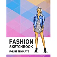 Fashion Sketchbook Figure Template: 430 Large Female Figure Template for Easily Sketching Your Fashion Design Styles and…