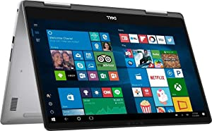 "2019 Dell Inspiron 7000 15.6"" FHD Touchscreen Flagship 2-in-1 Laptop, Intel Quad Core i7-8550u Processor Upto 4.0GHz, 16GB Memory, 512GB SSD, Backlit Keyboard, USB-C, WiFi, HDMI, Windows 10"