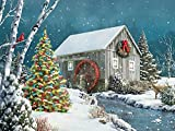 Springbok The Falling Snow Jigsaw Puzzle 500-Piece