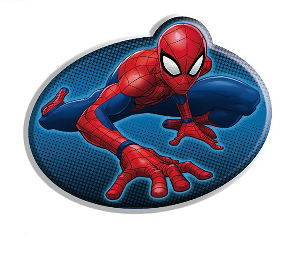 Suncity Spiderman Cojín Forma 37x26cm LQ2040: Amazon.es ...