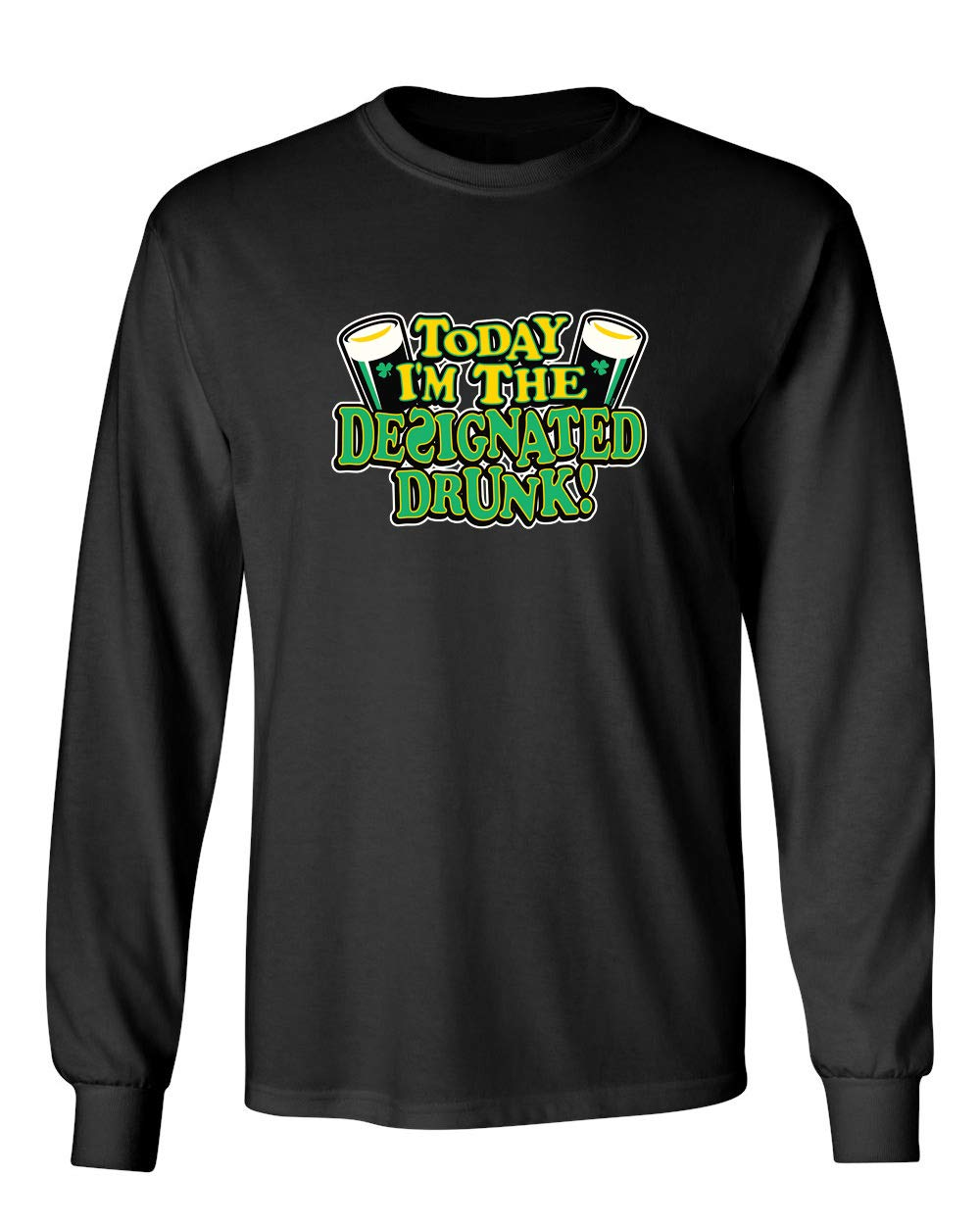 Designated Drunk St Patrick S Day Saint Irish Pats Sarcastic Funny T Shirt