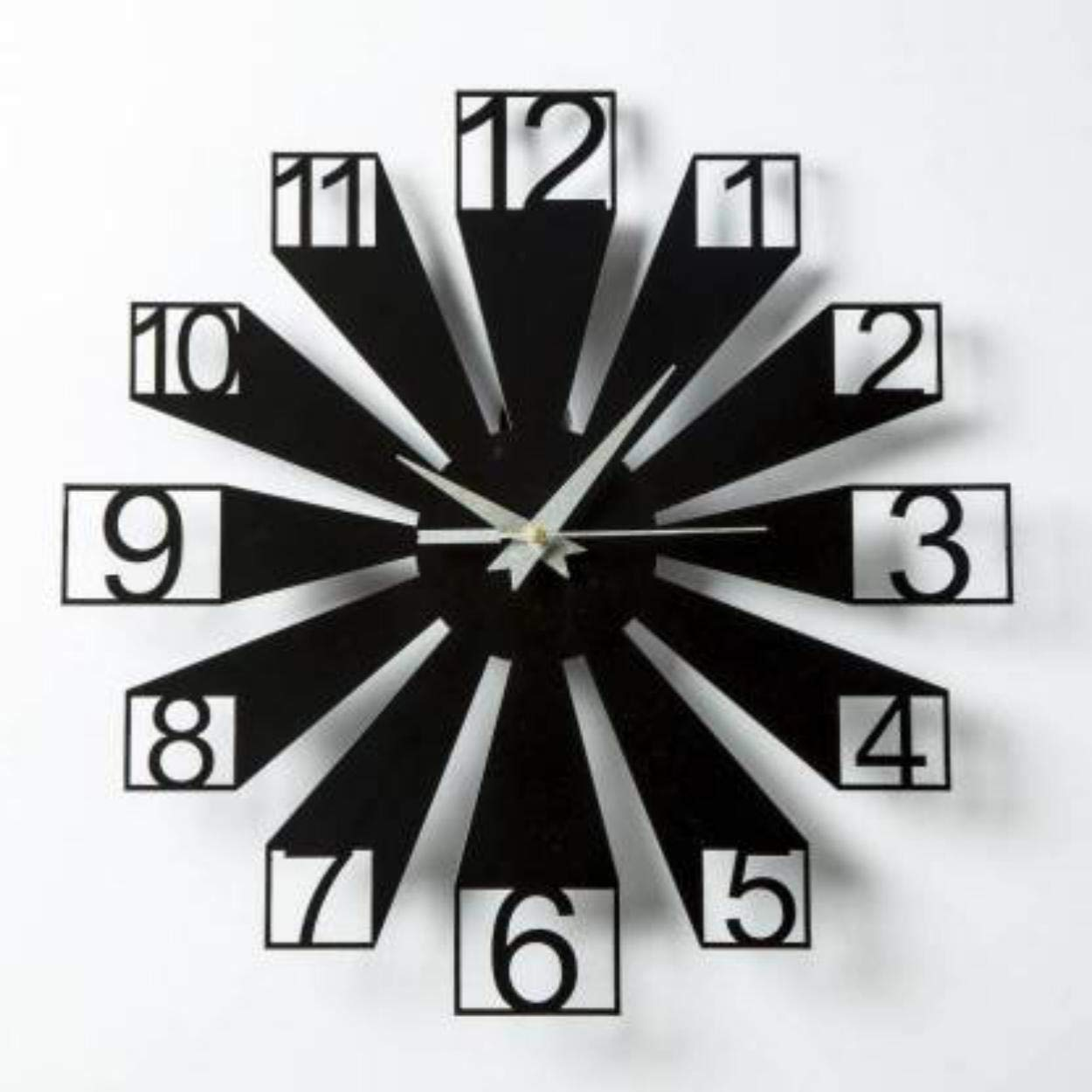 Generic,Gudki Analog Wall Clock for Home for Living Room(12 X 12 Inches)