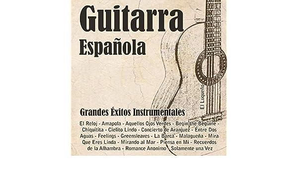 Guitarra Española (Instrumental) de El Luqueño en Amazon Music ...
