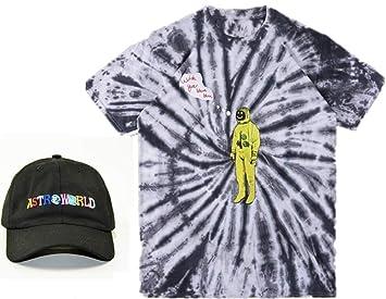 Astroworld T-shirt Moda Camiseta Ocio Sombrero Aptitud ...