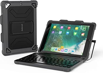 Dodocool MFi-Certified Keyboard Case for Sixth-Generation iPad 9.7