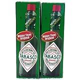 Mcilhenny Co Tabasco Milder Jalapeno Pepper Sauce 2 Oz Bottle (Pack of 2)