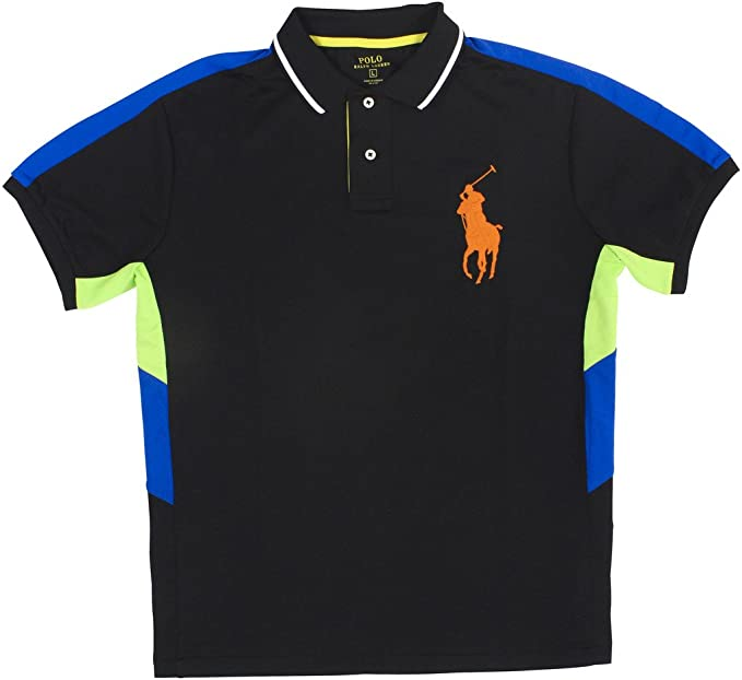 Men/'s Polo Ralph Lauren Big /& Tall Big Pony Performance Sweat Wicking Polo Shirt