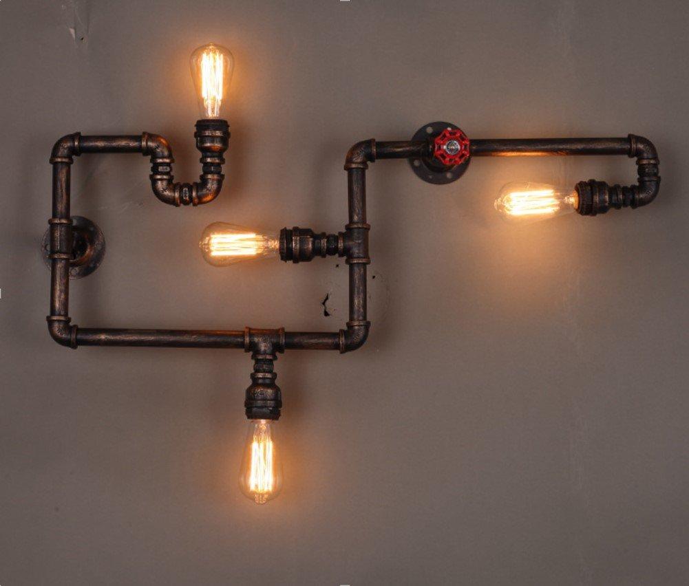 Yuewei®Vintage Yuewei®Vintage Yuewei®Vintage Retro Wasserrohr Light Retro Nostalgie Wandlampe Décor Wandleuchten8343.512.5cm e04697