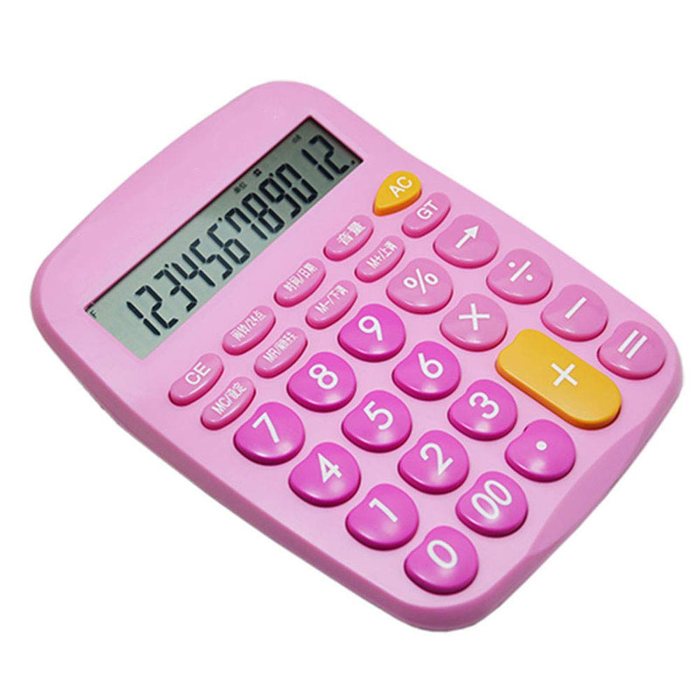 Amazon.com : CalculatorStylish Cute Desktop Computer Plastic ...