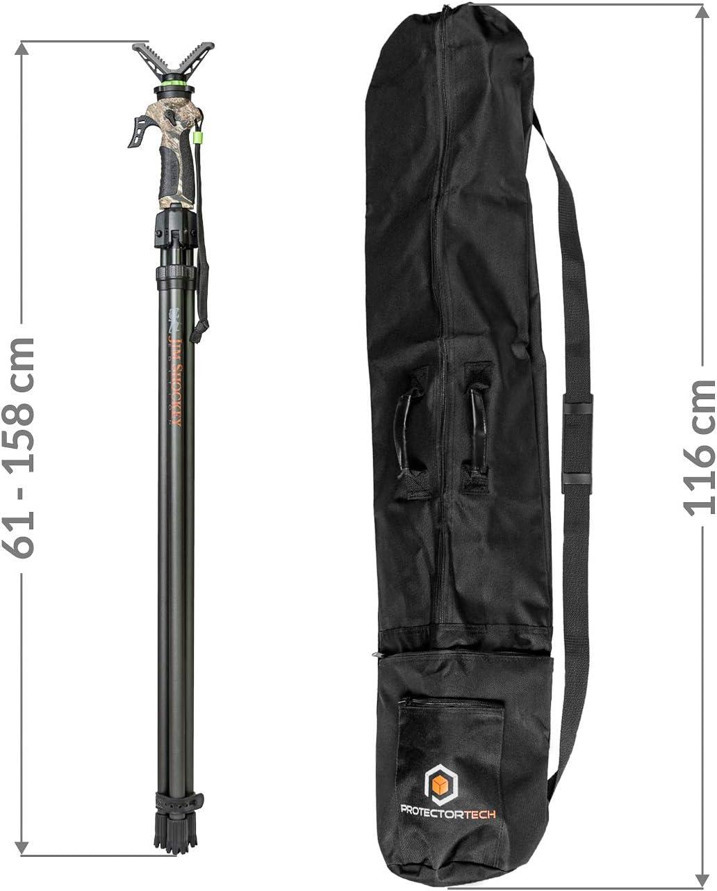 Primos Trigger Stick Gen 2 Deluxe Tripod Tall Hd Protective Case Sport Freizeit