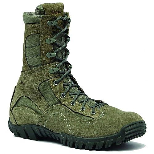 Amazon.com | Belleville Mens Hot Weather Hybrid Steel Toe Assualt Work/Duty Boots | Boots