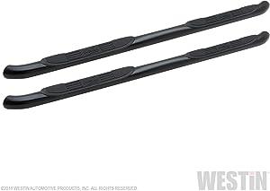 Westin 25-1455 Signature 3 Black Round Nerf Step Bars | 2 Pack