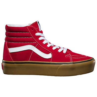 Image Unavailable. Image not available for. Color  Vans Unisex Sk8-Hi  Platform ... 8c352c42b