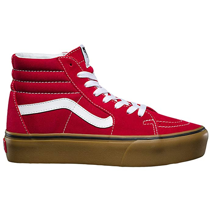 Vans Sk8-Hi Schuhe High Tops Erwachsene Damen Herren Rot