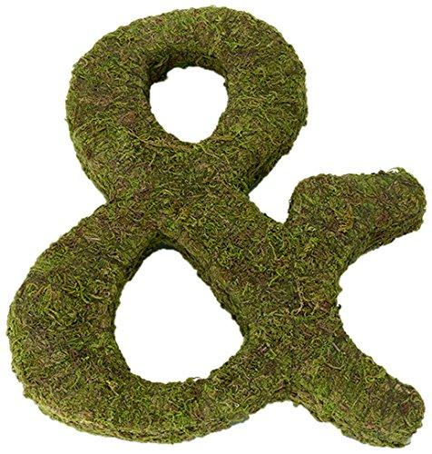 """Lillian Rose MG600 12"""" Moss Ampersand Monogram Letter"""