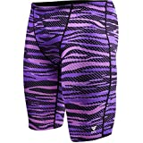 TYR SCR7Y Boys' Crypsis All Over Jammer, Purple - 22