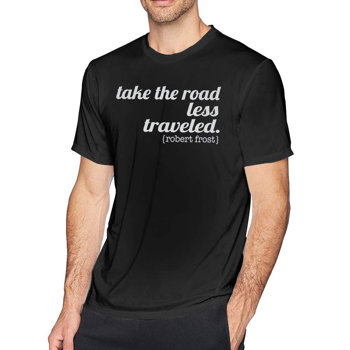 Gjfauehf Take The Road Less Traveled T Shirts