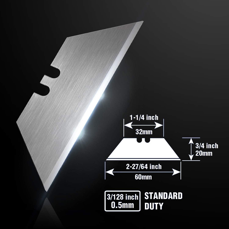 WORKPRO Utility Knife Blades Dispenser SK5 Steel 100-pack 61GGcU2tpJL