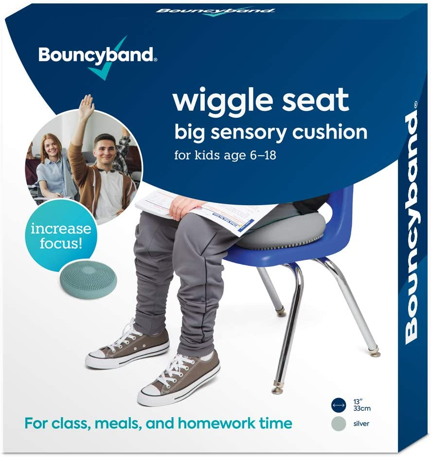 Wiggle Seat Large, Silver