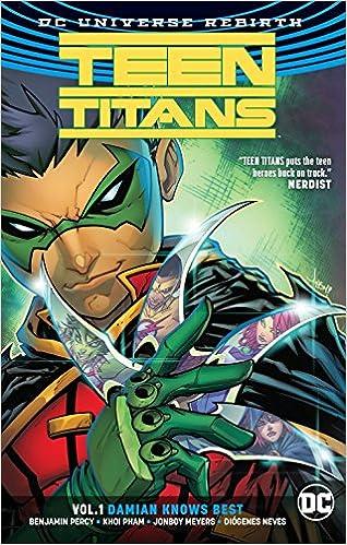Amazon com: Teen Titans Vol  1: Damian Knows Best (Rebirth