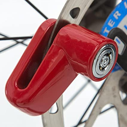Electric Car /•Disc Brake Lock Anti-Theft Lock Security Padlock for Motorcycles Rust-Proof and Durable. Bicycles,Bike Electrombile