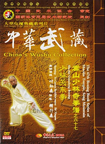 (Out of print) Boxing Skill Book Series of Songshan Shaolin Guandong Quan by Ye Cansen 2DVDs - No.067