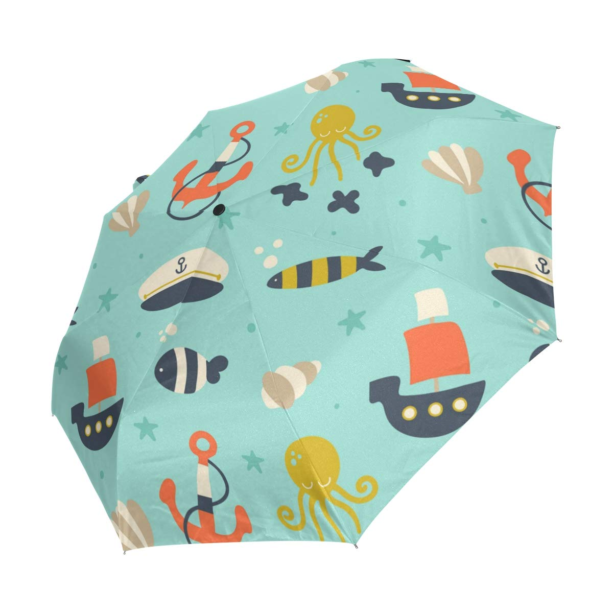 82dafcbf6de0 Amazon.com: imobaby Octopus Anchor Indestructible Windproof Umbrella ...