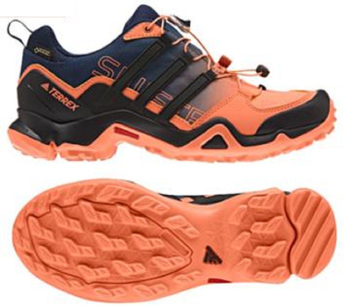 アディダス (adidas) ローカット 防水トレッキングシューズ 24.5cm(レディース) TERREX SWIFT R スウィフト GTX ゴアテックス 国内正規品 BB4637 イージーオレンジ B075L2B4TW