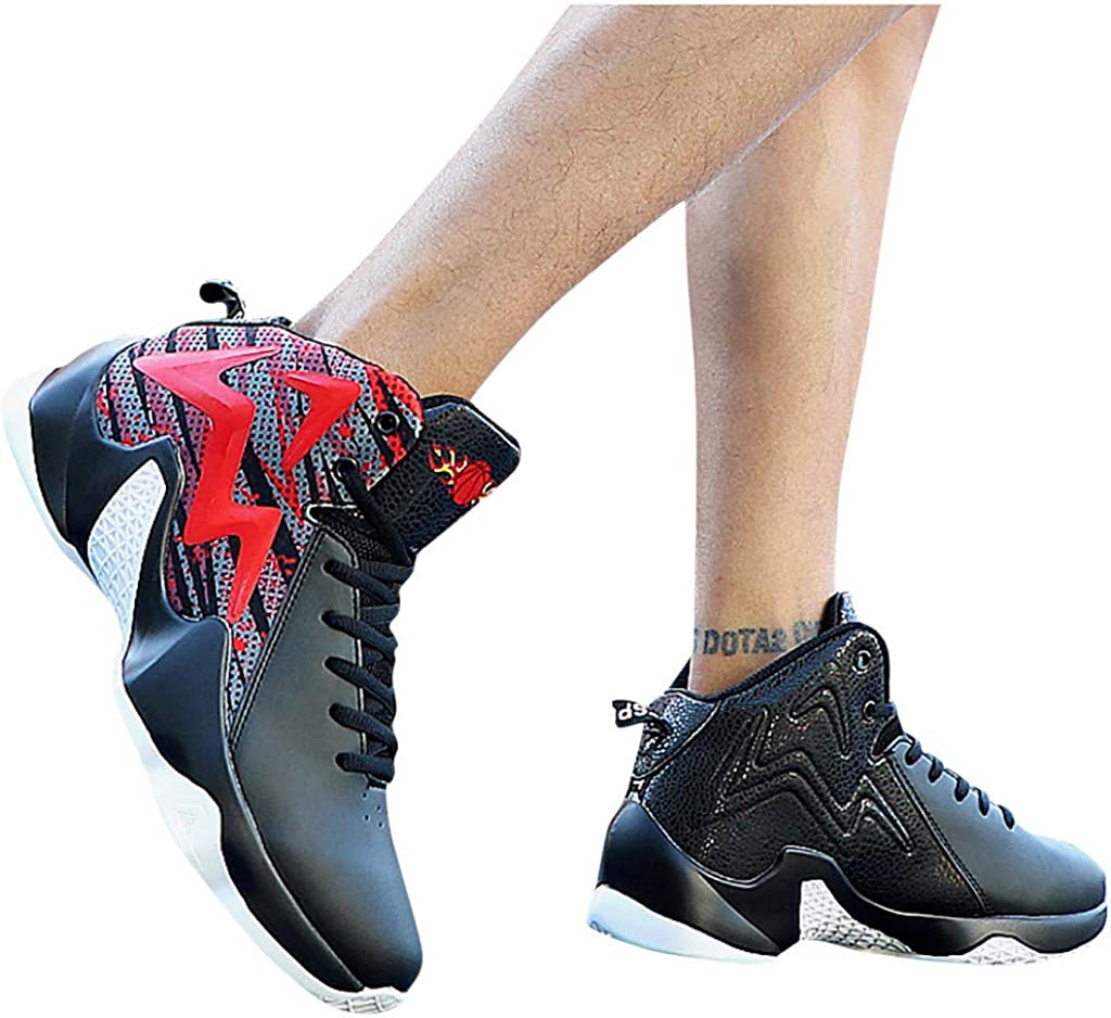 Corriee Mens Basketball Shoes Athletic Sneakers Mesh Breathable Trail Runners Outdoor Sports Shoes