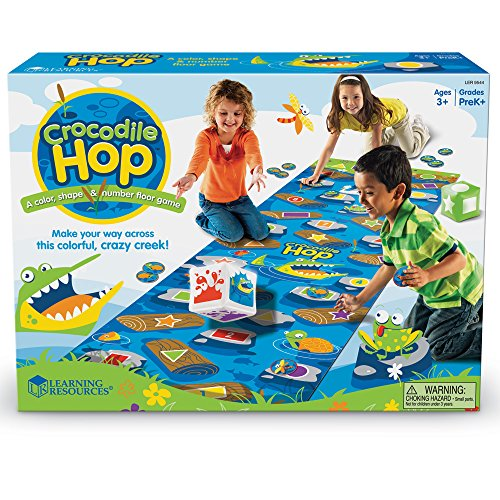 61qwXij%2BiLL - Learning Resources Crocodile Hop Floor Game