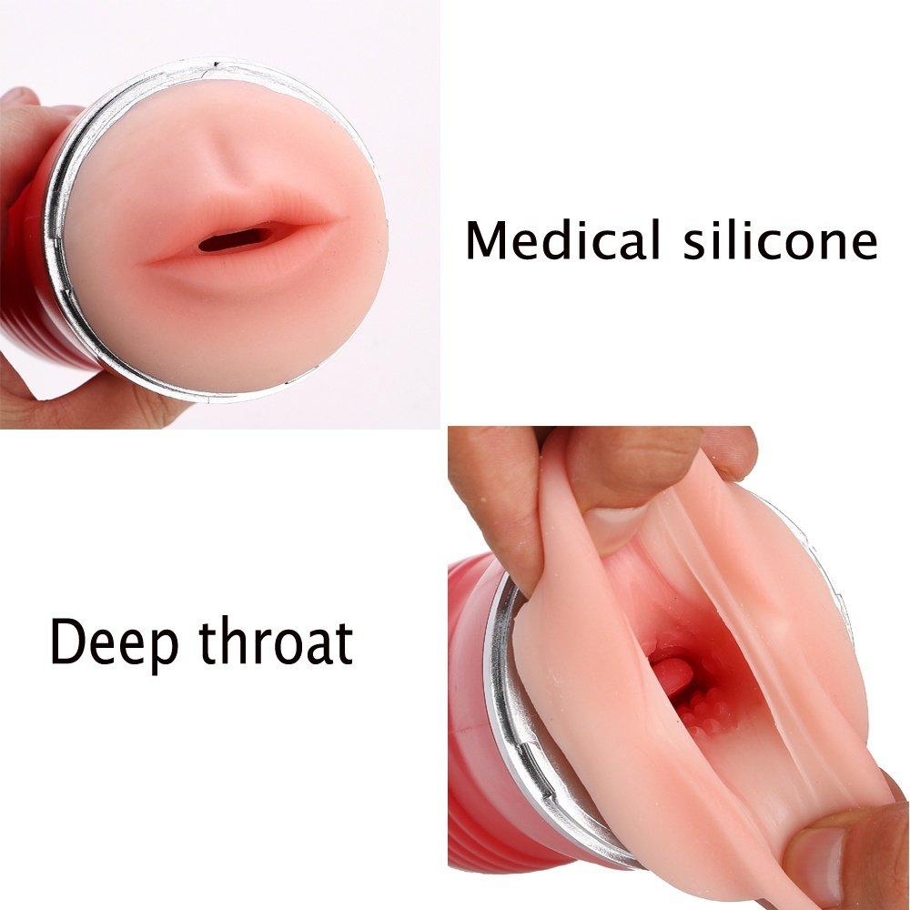 Doble Silicona Taza De Avión Masculino Simular Cavidad Oral Portátil Bolsillo Portátil Oral Prolongar Tiempo para Ejercicio Dispositivo Adulto para Hombres d9c370
