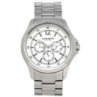 9b4e8c579110 [コーチ] 腕時計 メンズ アウトレット COACH W5013 GM/WT ガンメタル ホワイト [並行輸入