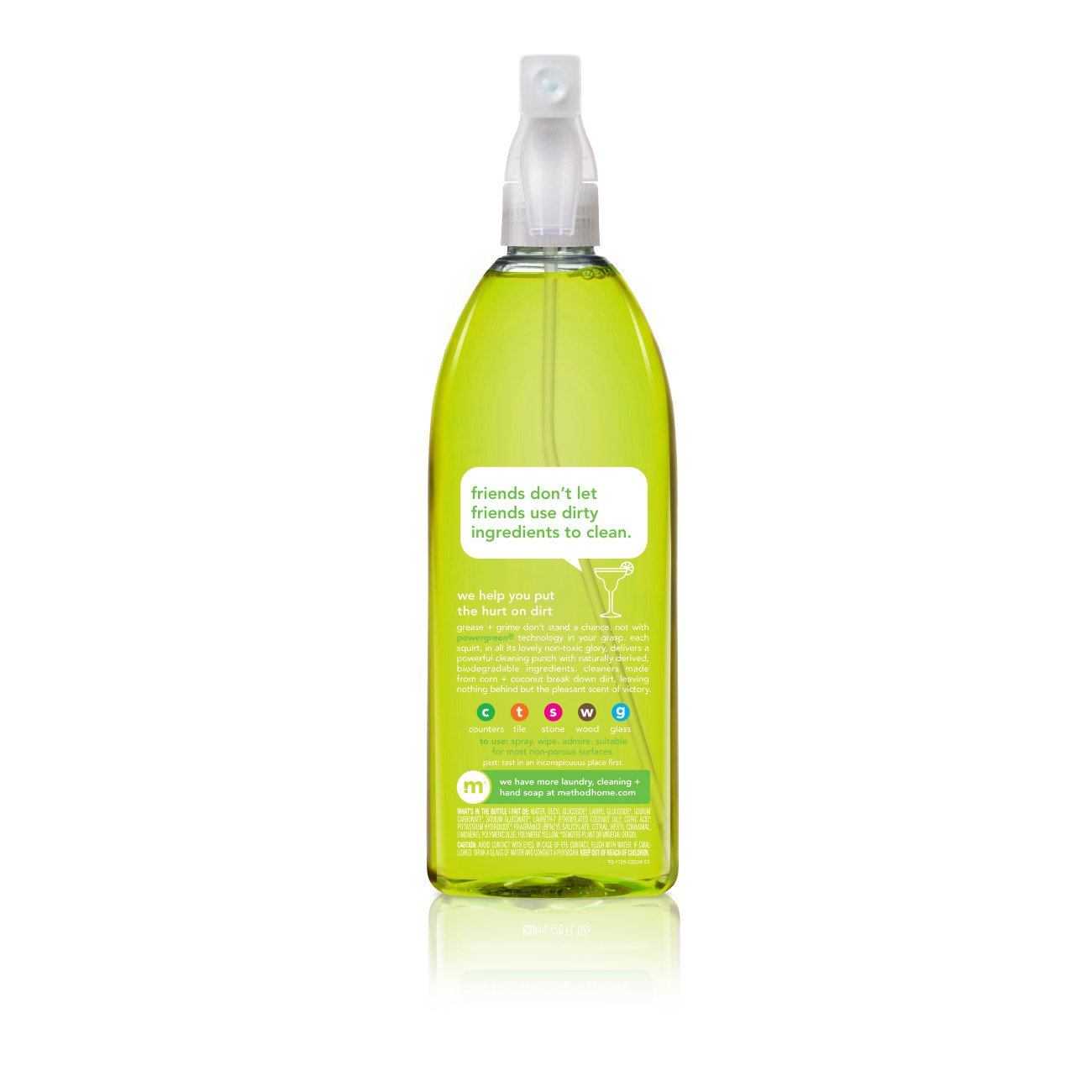 Method All Purpose Cleaner, Lime + Sea Salt, 28 Ounce (8 Count) by Method (Image #4)