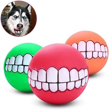 Squeaky Juguete perro Pelota Fútbol-Cachorro Perro//jugar dentición Fetch Divertido