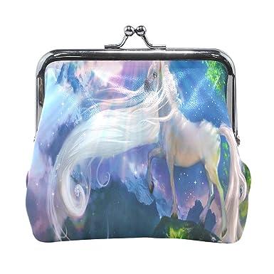 Amazon.com: Unicorn Sunshine - Cartera para mujer, moneda ...