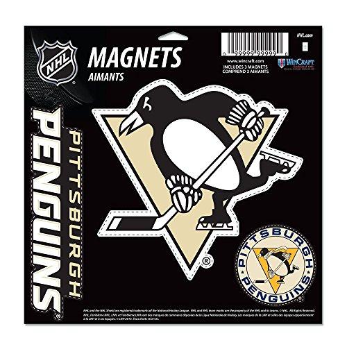 WinCraft NHL Pittsburgh Penguins Vinyl Magnet, 11 x - Magnets Penguins Pittsburgh