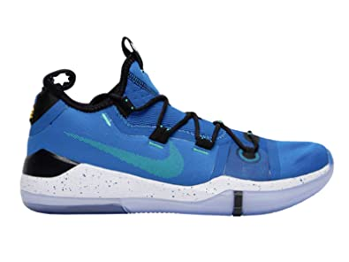 online retailer d6c39 a88bc Nike Men's Kobe AD Military Blue/Sunblush Mesh Basketball Shoes 10.5 M US