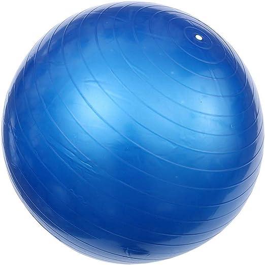 Pelota de gimnasio Bola de yoga 1 Pc Yoga Pilates bola auxiliar Espesar a prueba de explosiones bola del ejercicio de la bola flexible del balance de Estabilidad Ejercicio Training Color: 55 cm