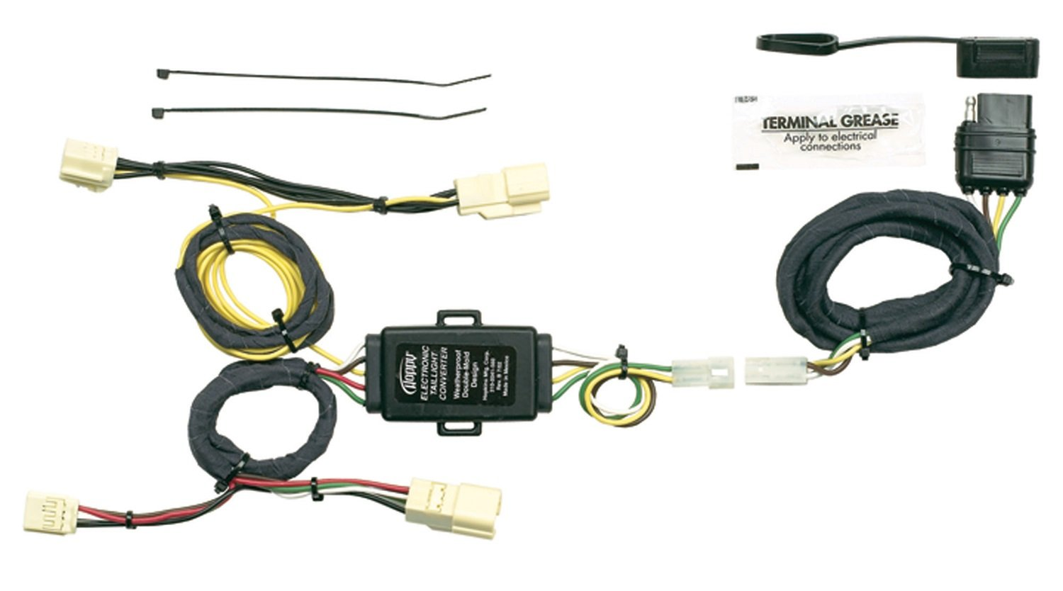 Hopkins 43405 Plug In Simple Vehicle Wiring Kit Automotive Lexus Hitch Harness