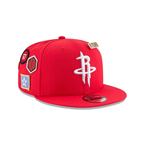 Image Unavailable. Image not available for. Color  New Era Houston Rockets 2018  NBA Draft Cap 9FIFTY Snapback Adjustable Hat- Red 471a50091