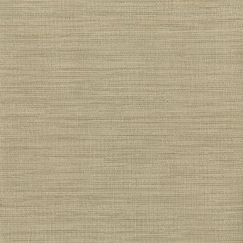 Warner Textures Giana Light Brown Horizontal Silk Wallpaper