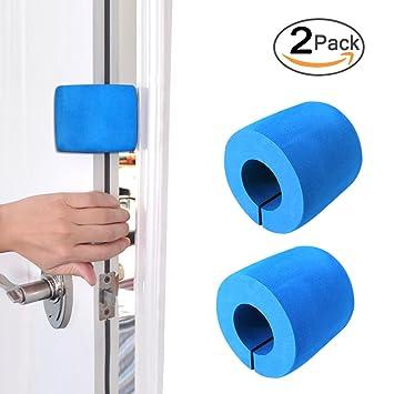 Finger Pinch Door Guard (2 Pack) Foam Door Slamming Stopper for Child/Baby  sc 1 st  Amazon.com & Amazon.com : Finger Pinch Door Guard (2 Pack) Foam Door Slamming ...