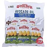 Boulder Canyon, Chip Potato Avocado Oil Sea Salt, 1.25 Ounce, 6 Pack