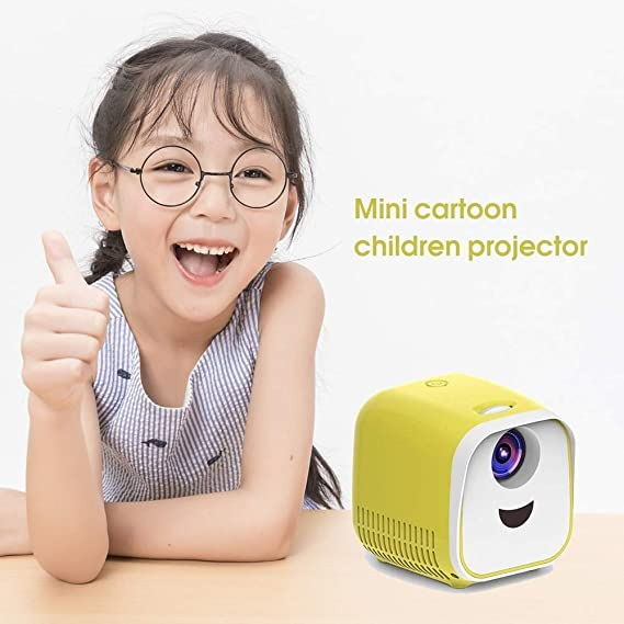 ZGHOME Electronic Mini Proyector Portable Soporte HD Proyectores ...