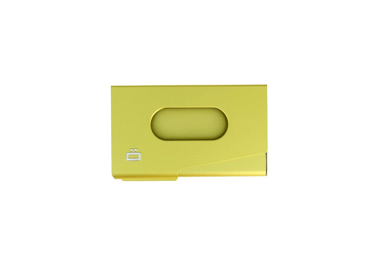 Ögon OT-Green-Lime Tarjetero de Visita One Touch Aluminio ...